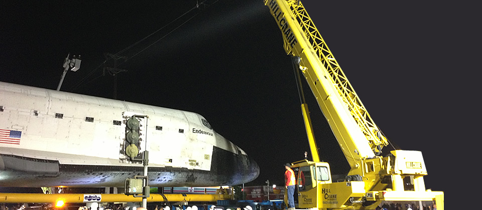 Moving Endeavour