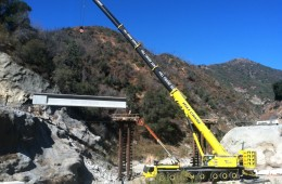 San Gabriel Bridge Girders