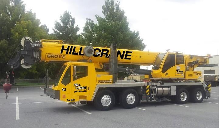NEW – Grove TMS 9000E 110 Ton Crane