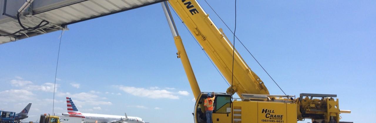 Crane Operations at LAX