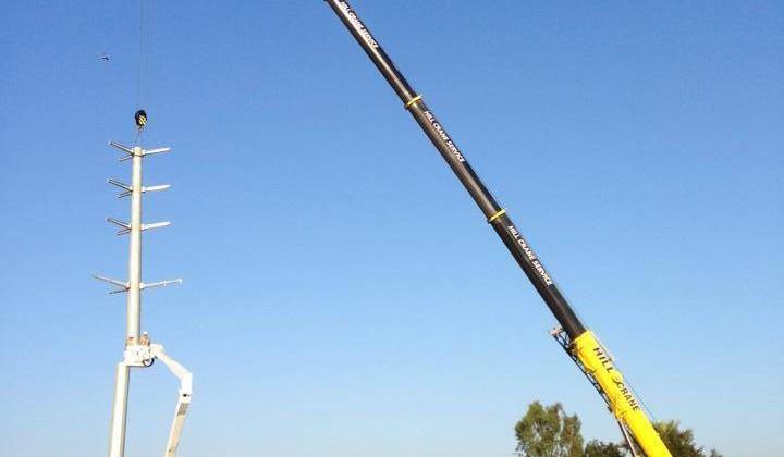 Hill Crane, Southern California's leading crane service provider!