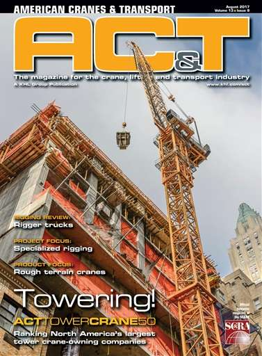 Ronald Hill Featured on American Cranes & Transport - Hill Crane