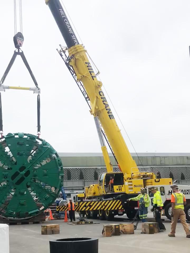 Metrolink Tunnel Project - Hill Crane Service, Inc